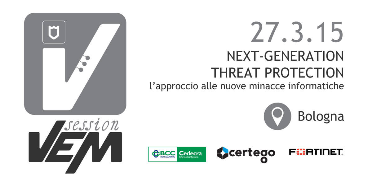 VEM session Security - Bologna - 27 marzo 2015